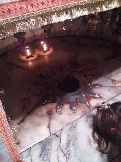 Betlemme, la santa grotta.