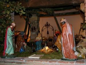 Il Presepe di Fra Carmelo a Verona, presso i Frati Barana