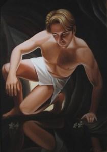 """""""Autoritratto-enigma di Narciso"""", Flury 2007"""