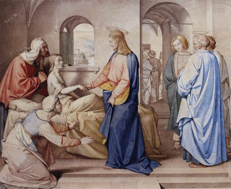 Johann_friedrich_overbeck-christ_resurrects_the_daughter_of_jairus